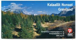 GREENLAND 2011 Europa: Forests Self-adhesive Booklet MNH / **  Michel 580-81;  SG  SB36 - Markenheftchen