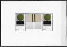 Irlande 2021 Bloc Neuf Patrick Scott En Présentoir - Blocks & Sheetlets