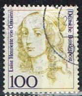 ALL-351 - RFA  ALLEMAGNE FEDERALE N°1588 Obl. Henriette Von Oranien - Gebraucht