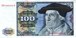 Ro 289a 100 Mark 1980 Serie NM/H - 100 Deutsche Mark