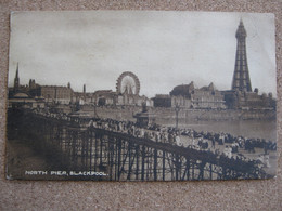 North Pier, Blackpool, Lancashire  - Posted 1908 - Blackpool