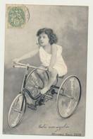 Carte Fantaisie - Enfant - Vélo Tricycle - Juegos Y Juguetes