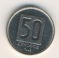 ECUADOR 1988: 50 Centavos, KM 90 - Ecuador