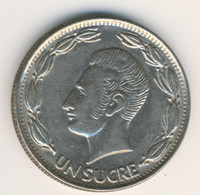 ECUADOR 1981: 1 Sucre - Ecuador
