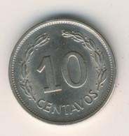 ECUADOR 1972: 10 Centavos, KM 76c - Ecuador