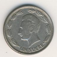 ECUADOR 1964: 1 Sucre, KM 78b - Ecuador