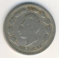 ECUADOR 1959: 1 Sucre, KM 78a - Ecuador