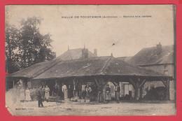 CPA-08-Halle De TOURTERON - Marché Aux Cerises- Martinet Edit. RARE. **2 Scans - Andere Gemeenten