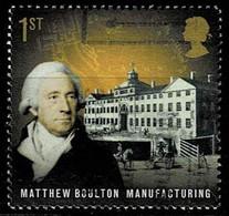GB 2009,Michell# 2735 O  Pioneers Of The Industrial Revolution: Matthew Boulton, Manufacturing - Gebruikt