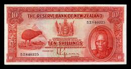 Nueva Zelanda New Zealand 10 Shillings Maori King 1934 Pick 154 MBC/+ VF/+ - New Zealand