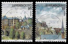 Luxemburg 1995,Michell# 1364 - 1365 O  European City Of Culture - Gebruikt