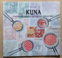 VILKO ŽILJAK, KUNA PAPIRNATI NOVAC REPUBLIKE HRVATSKE CROATIA PAPER MONEY 1994 - Books & Software