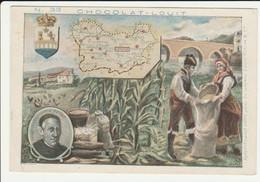 CHROMO  Chocolat LOUIT  ESPAGNE  MALAGA   VICENTE ESPINEL    GEOGRAPHIE COSTUMES  HISTOIRE  SPAIN - Louit