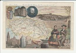 CHROMO  Chocolat LOUIT  ESPAGNE  TOLEDO     GEOGRAPHIE COSTUMES  HISTOIRE  SPAIN - Louit