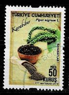 Türkei 2018,Michell# 4423 O Black Pepper (Piper Nigrum L.) - Gebraucht