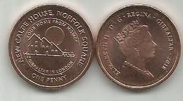 Gibraltar 1 Penny 2018. High Grade - Gibraltar