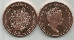 Gibraltar 2 Pence 2017. High Grade - Gibraltar
