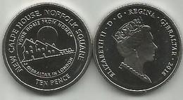 Gibraltar 10 Pence 2018. High Grade - Gibraltar