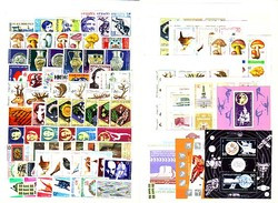 1987 Compl.-MNH Yv.-3068/3138+P.A.-153 + 3 P.Feuille + 7 BF 144/150 Bulgaria/Bulgarie - Volledig Jaar
