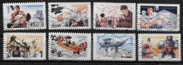 FRANCE  N° 1132/39   Oblitere ( Cote  6.40e )  Croix Rouge Sauvetage - Rotes Kreuz