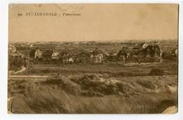 1945 Sint Idesbald - Panorama - Niet Gefrankeerde Kaart - Stempel KOKSIJDE + Zwarte T Van TAX  Home Des Prisonniers Pol- - Sonstige