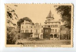 1968 Chateau Du Comte De Jonghe D'Ardoye - Kasteel Castle - Ed. Gofflot - Rhode-St-Genèse - St-Genesius-Rode