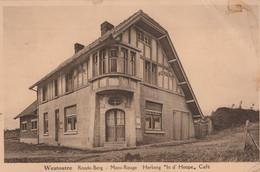 CPA - BELGIQUE - WESTOUTRE - Mont Rouge Heberg In D'hoope Café - Unclassified