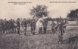 Grandes Manoeuvres De 1905 Après La Manoeuvre - Maniobras