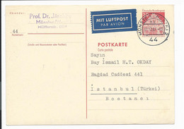 Bund P 93 - 30 Pf Bauten IV V. Münster N. Istanbul Bedverw - Postcards - Used