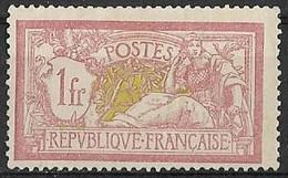 France 1900 - Type Merson Papier (GC) Y&T N° 121 ** Neuf Luxe (gomme D'origine) Voir 2(scans). - Ungebraucht