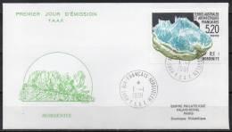 TAAF - Port Aux Français - Kerguelen - FDC - 1991 - Yvert N° 160 - FDC