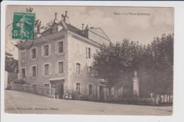01 – GEX – La Place Gambetta (circulée 1911) - Gex