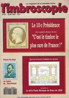 TIMBROSCOPIE N° 81 + SCANN SOMMAIRE - Francesi (dal 1941))