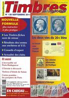 TIMBRES MAGAZINE  N° 126 + SOMMAIRE - Francesi (dal 1941))