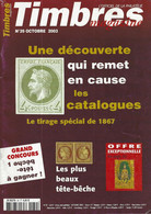 TIMBRES MAGAZINE  N° 39 + SOMMAIRE - Francesi (dal 1941))