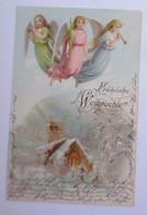 Weihnachten, Engel, Musizieren, Kirche,   1902 ♥  (66034) - Sin Clasificación