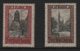 DANZIG 1924 HELLINGRATH 5G + 10G MINT N/H - Sonstige