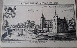 Meise Le Chateau De Meysse En 1670 - Meise
