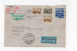 AUSTRIA: 1934 Air Mail Cover To London (S225) - Covers & Documents