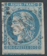 Lot N°59678   N°44-45 Ou 46 ?, Oblit GC 3112 Rennes, Ille-et-Vilaine (34) - 1870 Bordeaux Printing