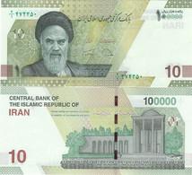 IRAN       100,000 Rials       P-New       ND (2021)      UNC  [ 100000 ] - Iran