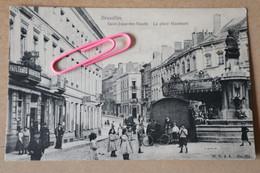 SAINT-JOSSE-TEN-NOODE : La Place Hauwaert Et Le Moulin Avant 1906 - St-Josse-ten-Noode - St-Joost-ten-Node