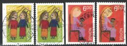 Norwegen Norway 2004. Mi.Nr. 1516 Dl + Dr, 1517 Dl + Dr, Used O - Usati