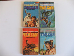 Tarzan 4 Livres En Anglais - Other