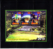 Soccer World Cup 2010 - ST. HELENA - S/S MNH - 2010 – África Del Sur