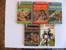 Tarzan 5 Livres En Allemand - Other