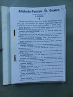 Adinkerke - Parochie St Omaars -  Overlijdens 1895 - 2000  +(De Moeren) - Histoire