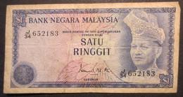 Billet - Malaysia One Dollar - Satu Ringgit J34 - Malaysia