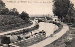 1V3 Nz   18 Marseilles Les Aubigny Pont Et Canal Du Berry - Altri Comuni