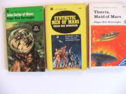 3 Livres Cycle John Carter En Anglais Edgar Rice Burroughs - Other